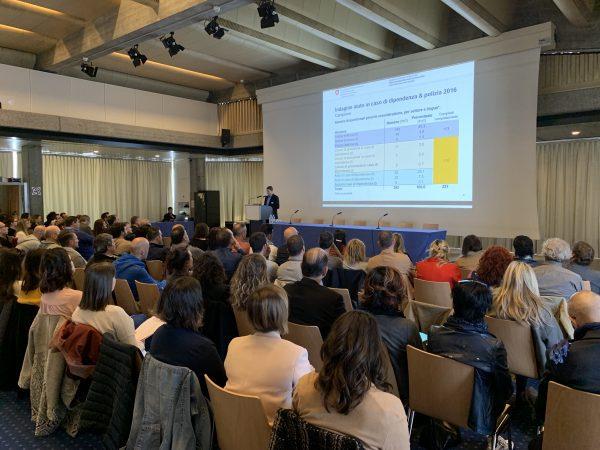 """Congresso """"Collaborazione tra l'ambito delle dipendenze e la polizia in Ticino"""""""